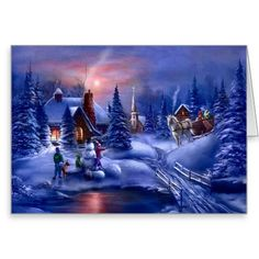A White Christmas~ #card #gifts #Christmas
