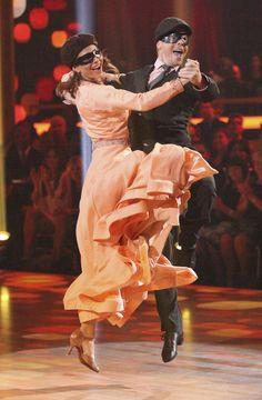Derek Hough and Maria Menounos Quickstep