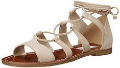 Steve  Madden  womens  sanndee  gladiator  sandal  taupe  nubuck