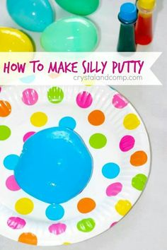 Silly putty!