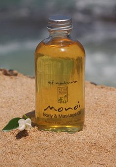 Monoi de Tahiti...great for body and hair