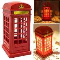 Lampara Cabina De Telefono Londres 22cm Decoración London