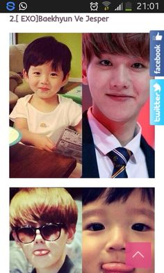 I really doubt that baby is him, but they surely resemble
