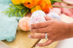 Give mom the gift of luxury with DIY bath bombs for Mother's Day