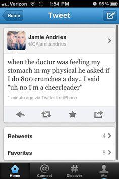 Hahahahaha! Hilarious!