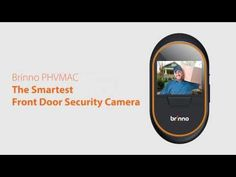 Brinno PHV MAC- Hidden Front Door Security Camera