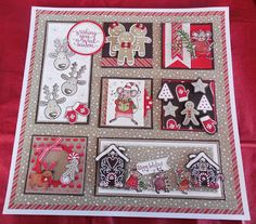 PENNY TOKENS STAMPIN SPOT: My First 12 x 12 Sampler