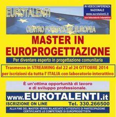A GENOVA  EUROPROGETTAZIONEDiventa esperto EUROPROGETTISTA. Opportunità occupazionale e di sviluppo-- acquisirai le competenze professionali per utilizzare i Fondi Europei.MASTER in EUROPROGETTAZIONE RIPARTI CON UNA COMPETENZA INNOVATIVA  TARIFFA SPECIALE PER PROFESSIONISTI, PROFESSORI E STUDENTI UNIVERSITARI. Professionale.  AL PREZZO PIU' COMPETITIVO D'ITALIA.