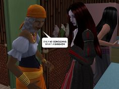 #courtleymanor #gothic #sims2 #comic #vampires #gypsies #matchmaker #potion #relationshiprepairer