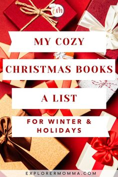 These are some of my favorite books to read around Christmas and the winter holidays. It's a festive holiday and winter booklist for adults, kids, and those in between. Cozy Christmas, Christmas Books, Vintage Christmas, Christmas Journal, Holiday Festival, Yule, Winter Holidays, Book Recommendations, Book Lists