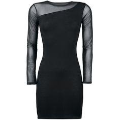 """""""Spiral"""" - """"One Shoulder Fine Mesh"""" Kleid Länge: ca. 87 cm Eng anliegendes Kleid mit Spitze am Ärmel und am Saum des Dekolletés besteht aus 100% Polyester."""