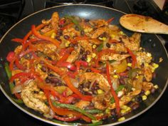 Chicken Fajitas Served 5 Ways- 147 calories | Lose Weight by Eating!