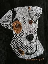blackwork embroidery - Google Search