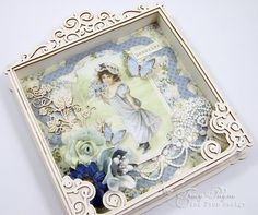 Patchwork of Life Shadow Box » Pion Design's Blog--by Tracy Payne