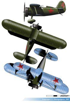 Polikarpov I-15 M-22