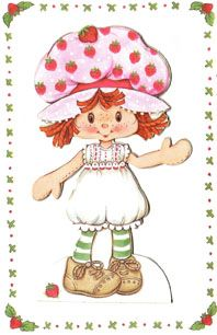 Charlotte aux fraises!!