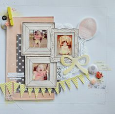 #papercraft #scrapbook #layout  Fill Your Heart by raquelp @2peasinabucket