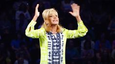 Beth Moore knows what it's like for the Devil to attack your family. But this woman of God knows it is in those times it is the hardest to pray. And hearing her advice for praying away the power of the Devil had me hollerin' AMEN!