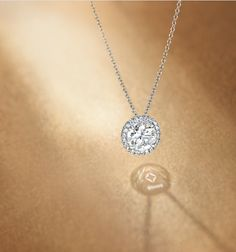 The Center of My Universe™ Round Halo Pendant from Forevermark.