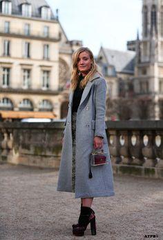 great greys. #KateFoley looking fab in Paris. #ATBP