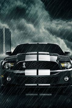 I love mustangs and this makes a great iPhone wallpaper!