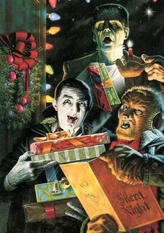 A Very Universal Monsters Christmas, One And All!