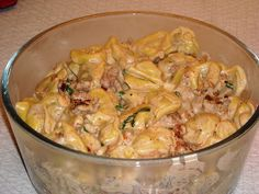 En verden af smag!: Tortellini med Mascarpone og Bacon