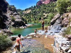 Siurana river, Tarragona (Spain)