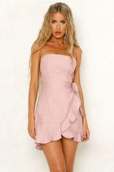 Top It Off Dress Blush