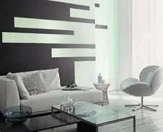 Resultado de imagen para como pintar formas geometricas paredes
