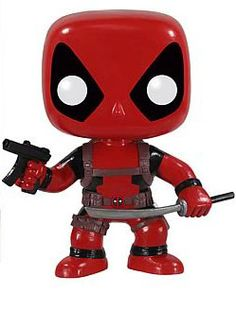 Marvel Deadpool Pop! Vinyl Bobble Head Figure $19.99 (might be able to find him on another site) SO CUTE