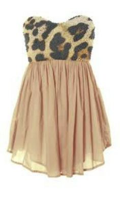 2b8a44bb1ac51 I love this short   flowy cheetah dress . Even could throw it over jeans  and add a cropped jacket