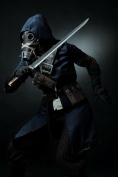 [Dishonored cosplay] Assassin by Alexial-kun