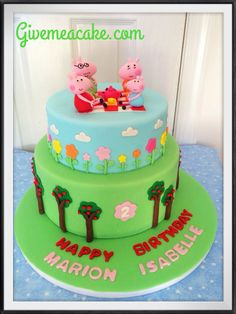 Peppa Pig Cake By Givemeacake Customized At Edison Nj Contact Email Sshennycgmail