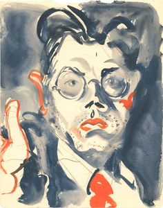 Joseph Binder, self portrait, no date