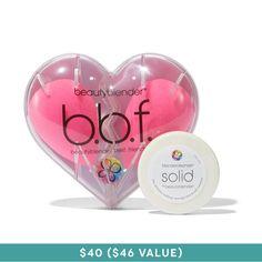 "beautyblender BBF + mini solid cleanser, <span class=""price"">$40.00</span> #birchbox"