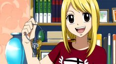 Lucy Heartfilia and her keys