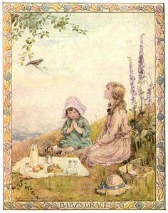 Baby's Grace - TARRANT, Margaret Winifred (English, 1888-1959)