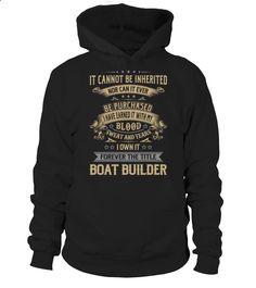 Boat Builder #BoatBuilder
