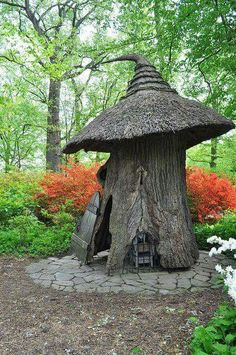Tulip Tree House, at Winterthur's Enchanted Woods, Delaware