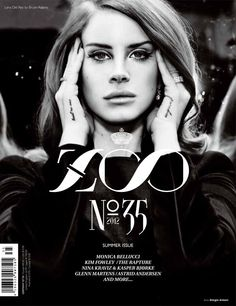 Lana Del Rey for Zoo Summer 2012