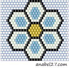 Схемы серег - кирпичное плетение
