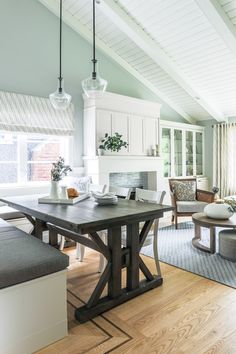 Oak hardwood flooring with natural finish
