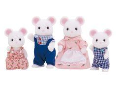 White Mouse Family|Sylvanian Families