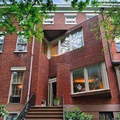 Langworthy Residence, 18 West 11th Street, New York, Hardy Holzman Pfieffer Architects, 1978. via thetriumphofpostmodernism on Tumblr