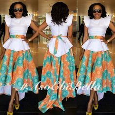Whhhhhhoooohooo! Aso Ebi on fire! This ladies and gentlemen is what I'm talking about!