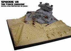 LEGO Recreation of Downed Star Destroyer on Jakku From STAR WARS: THE FORCE AWAKENS — GeekTyrant
