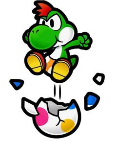 This will be my Yoshi tattoo on my back!
