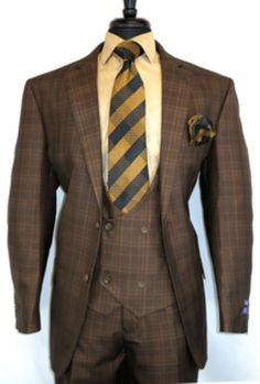 Mens Fashion Suits, Mens Suits, Double Breasted Suit, Single Breasted, Designer Suits For Men, African Men Fashion, Plaid Design, Casual Jeans, Wedding Suits