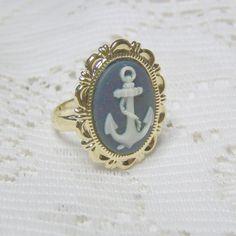 ANCHOR Cameo Ring